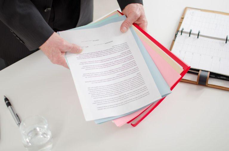 Полный пакет документов для возмещения затрат.